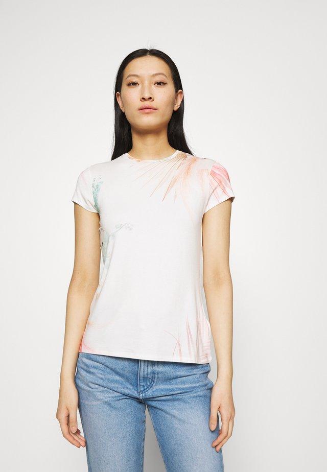 SERAHNA - T-shirt con stampa - cream