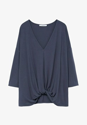 MONDY - Long sleeved top - anthrazit