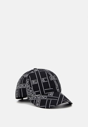MONOGRAM TAPE BASEBALL - Cap - black