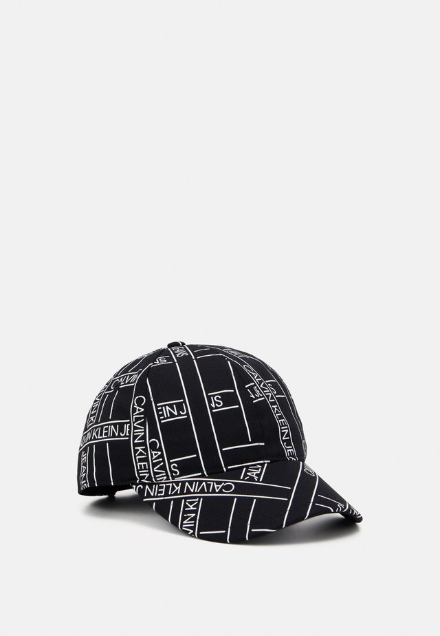 MONOGRAM TAPE BASEBALL - Gorra - black