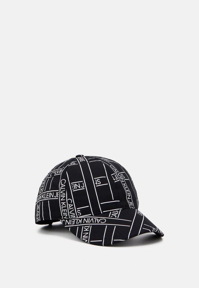 MONOGRAM TAPE BASEBALL - Cap - black