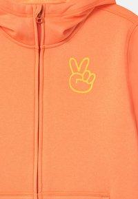 Burton - KIDS OAK FULL-ZIP HOODIE UNISEX - Sweater met rits - papaya heather - 2