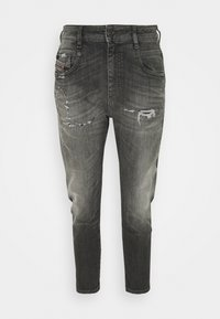 Diesel - D-FAYZA-T - Relaxed fit jeans - washed black - 4