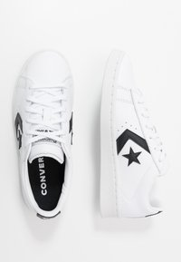 Converse - PRO LEATHER - Trainers - white/black - 2