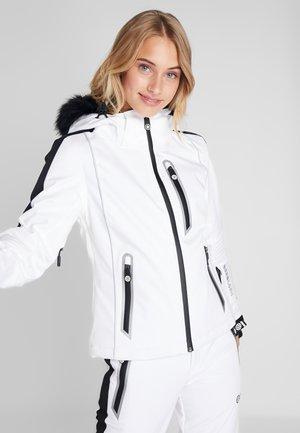 SKI CARVE JACKET - Laskettelutakki - arctic white