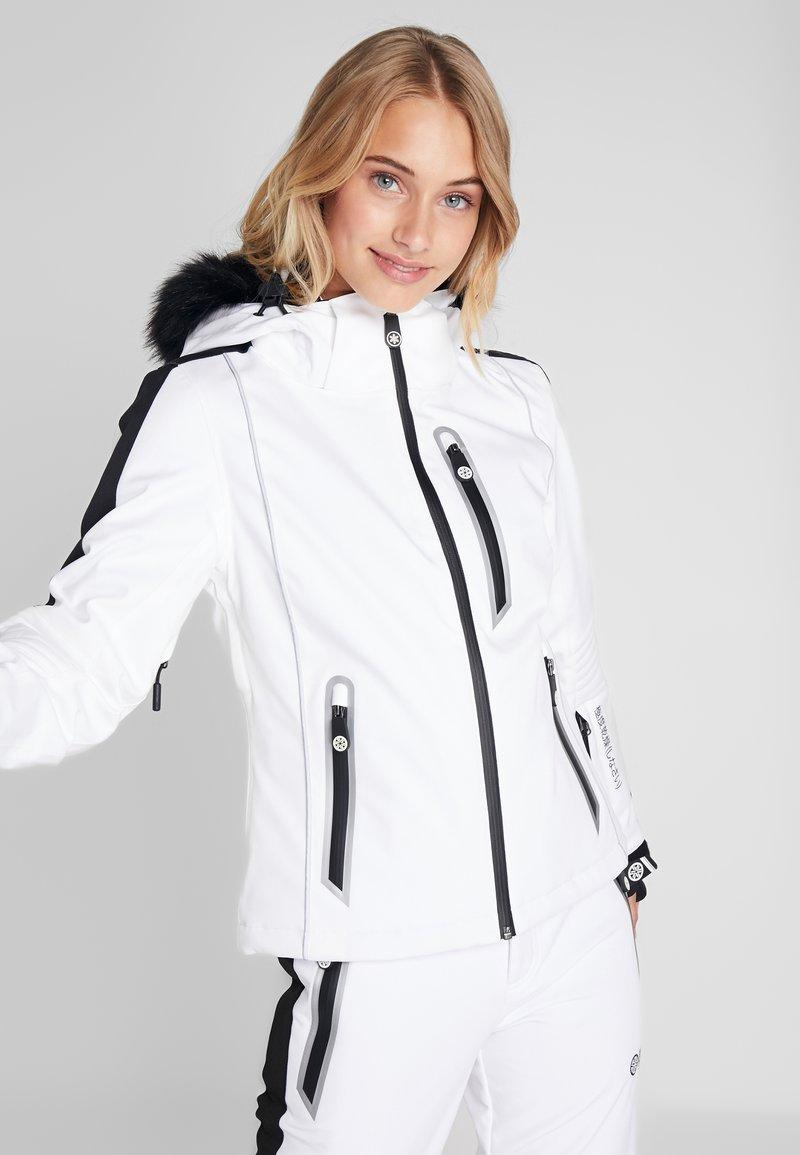 Superdry - SKI CARVE JACKET - Ski jas - arctic white