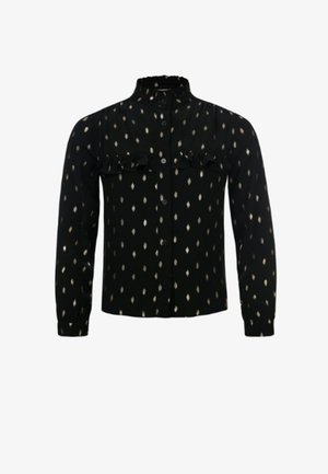 Overhemd - zwart