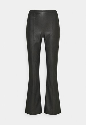 PENNY TROUSERS - Broek - black