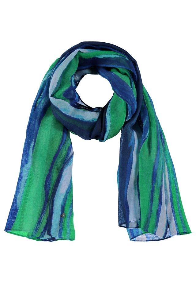Sjaal - space blue gemustert