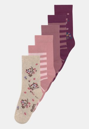 6 PACK - Calcetines - pink