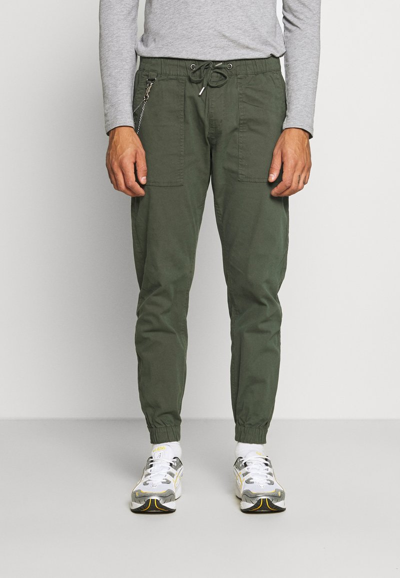 Redefined Rebel - TOBY PANTS - Trousers - thyme