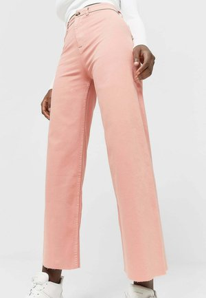 Flared jeans - salmon