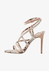 River Island Wide Fit - Sandali con tacco - pink light - 1