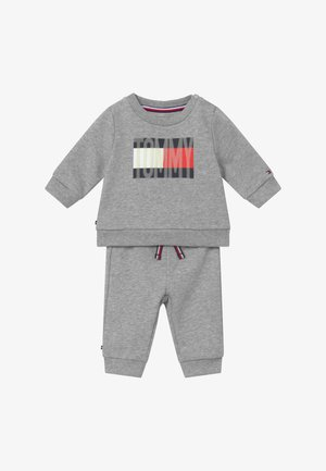 BABY FLAG TRACKSUIT SET - Trainingspak - grey