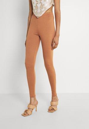 VIBE - Leggings - Trousers - pecan brown
