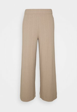 CILLA TROUSERS - Tracksuit bottoms - mole medium dusty