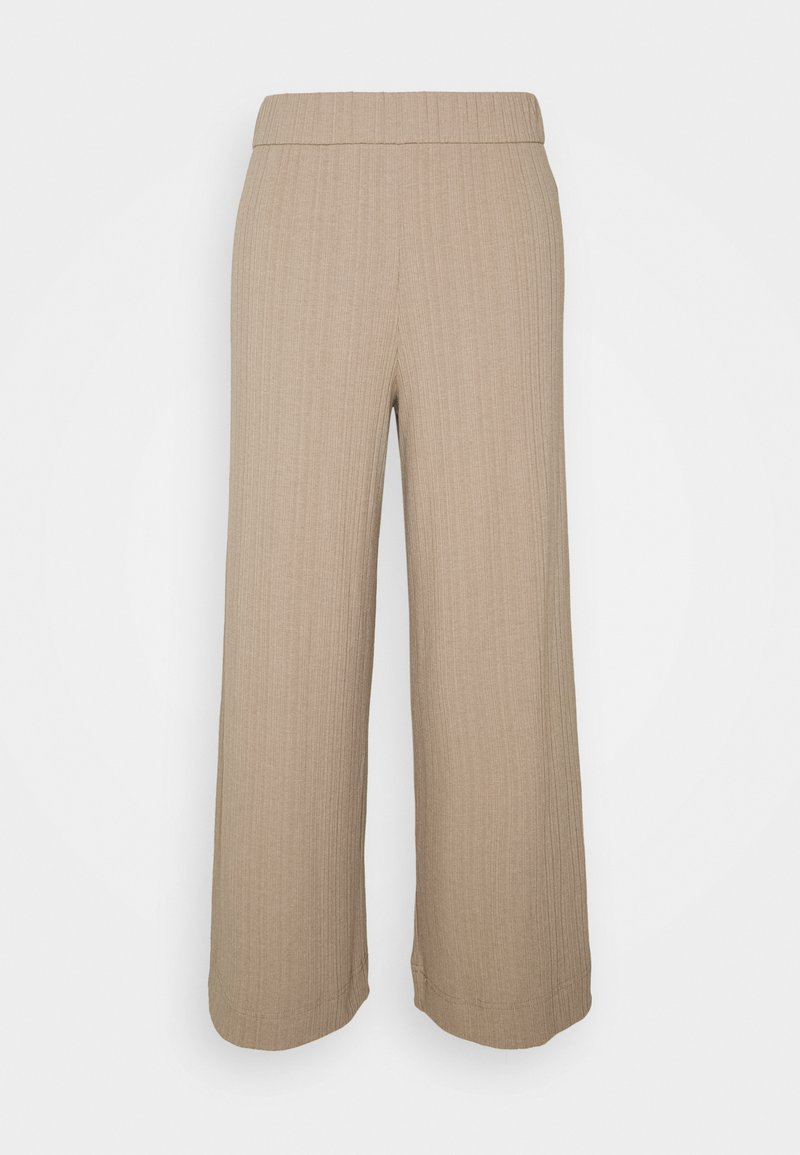 Monki - CILLA TROUSERS - Bukser - mole medium dusty
