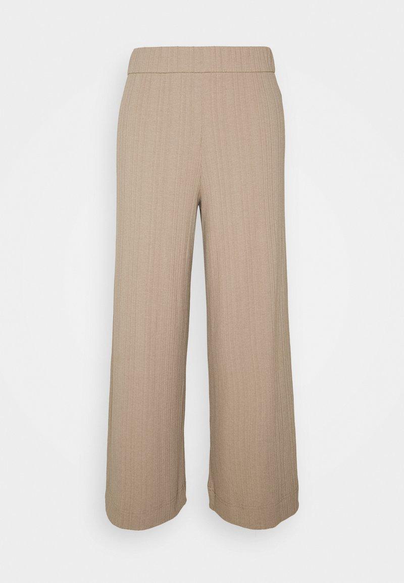 Monki - CILLA TROUSERS - Trousers - mole medium dusty