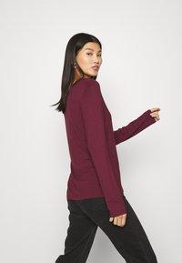 Anna Field - Long sleeved top - dark red - 3