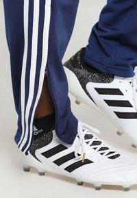 adidas Performance - TIRO - Spodnie treningowe - darkblue/white - 3
