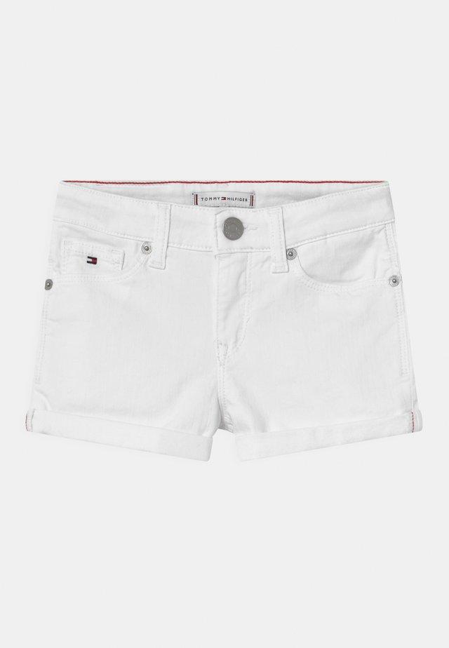 NORA - Shorts vaqueros - bright white