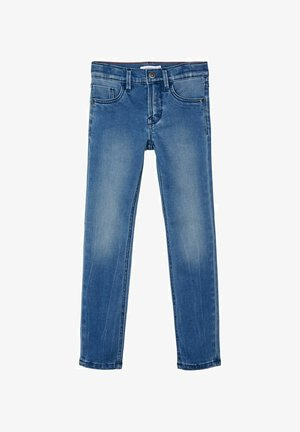 SLIM FIT - Slim fit jeans - medium blue denim