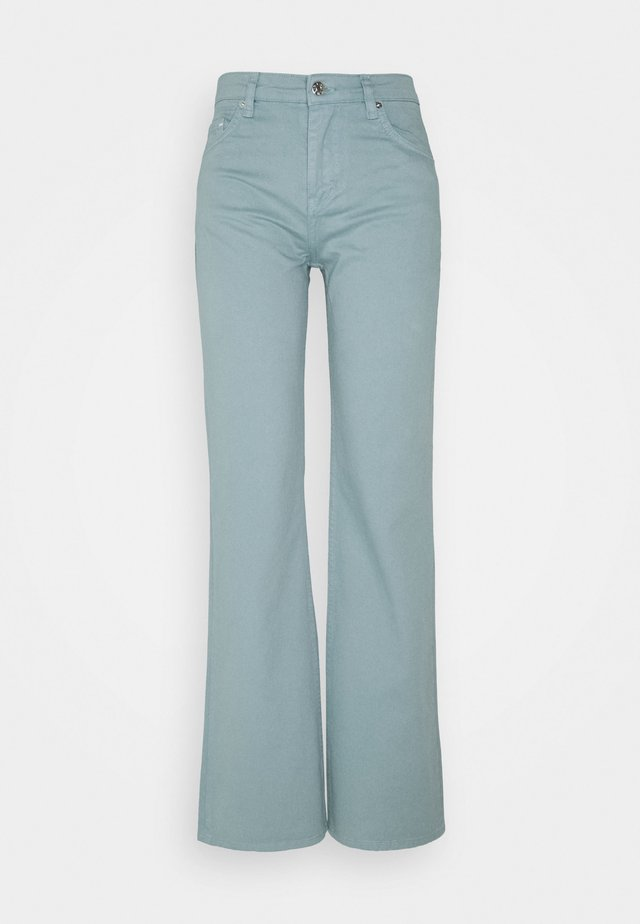 Bootcut jeans - sage green