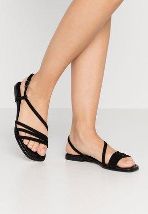 JORDAN - Sandály - schwarz