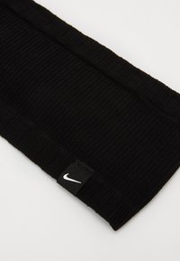Nike Performance - SEAMLESS HEADBAND - Čelenka - black/black/white - 2