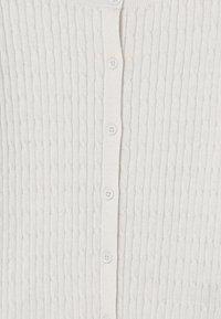 GAP - GIRLS UNI CABLE - Cardigan - white - 2