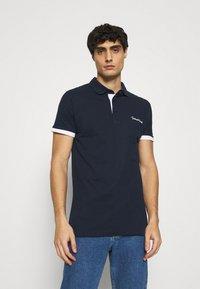 INDICODE JEANS - EARNEST - Polo shirt - navy - 0