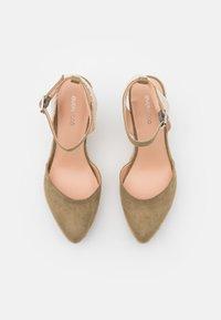Even&Odd - Platform sandals - khaki - 5