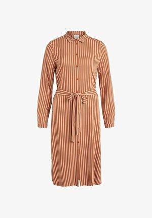 Shirt dress - adobe
