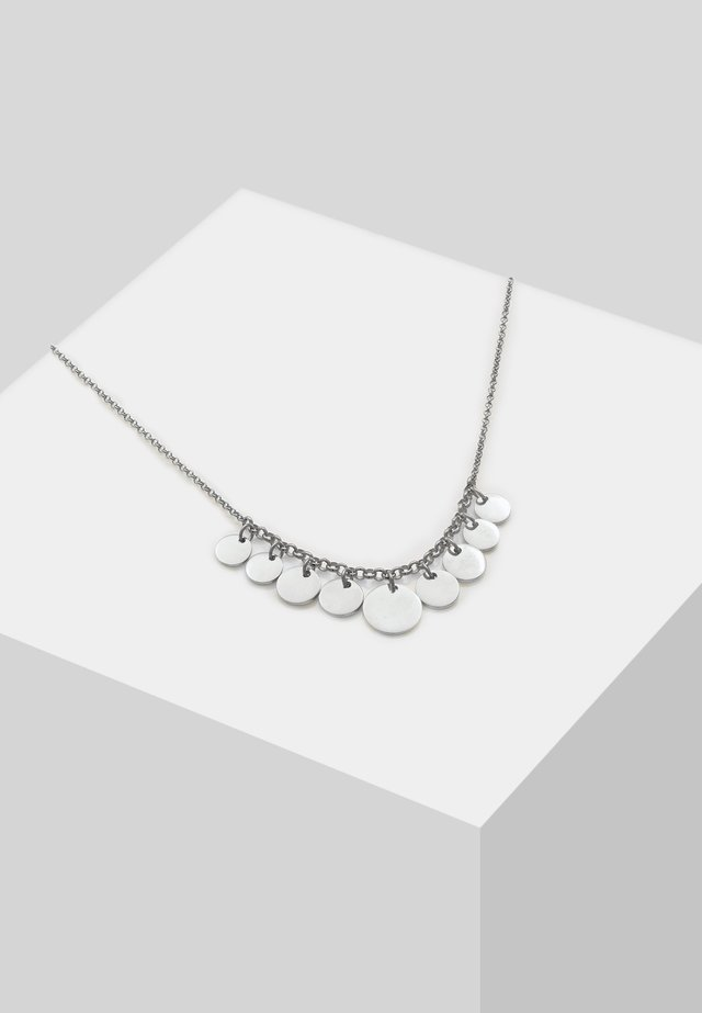 GEO LOOK PLÄTTCHEN - Kaulakoru - silver-coloured