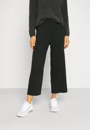 CALAH TROUSERS - Bukser - black