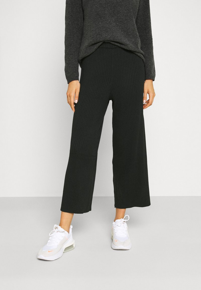 Monki - CALAH TROUSERS - Bukse - black