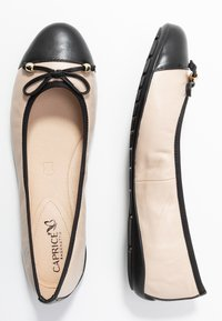 Caprice - Ballet pumps - black/beige - 3