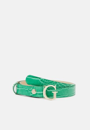CORILY ADJUSTABLE PANT BELT - Belt - green