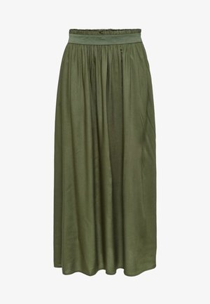 Pleated skirt - grape leaf