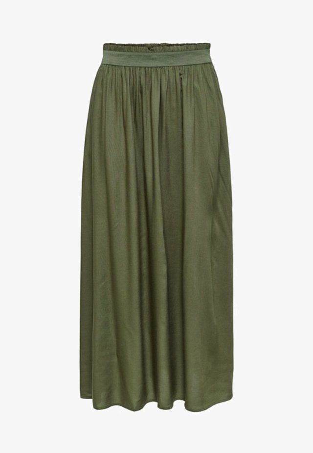 ONLVENEDIG  - Maxi skirt - grape leaf