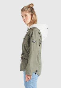 khujo - FAMKE - Light jacket - hellkhaki - 3