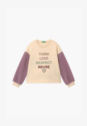 FOREST FRIENDS - Sweatshirt - beige