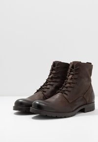 Jack & Jones - JFWORCA  - Lace-up ankle boots - brown stone - 2
