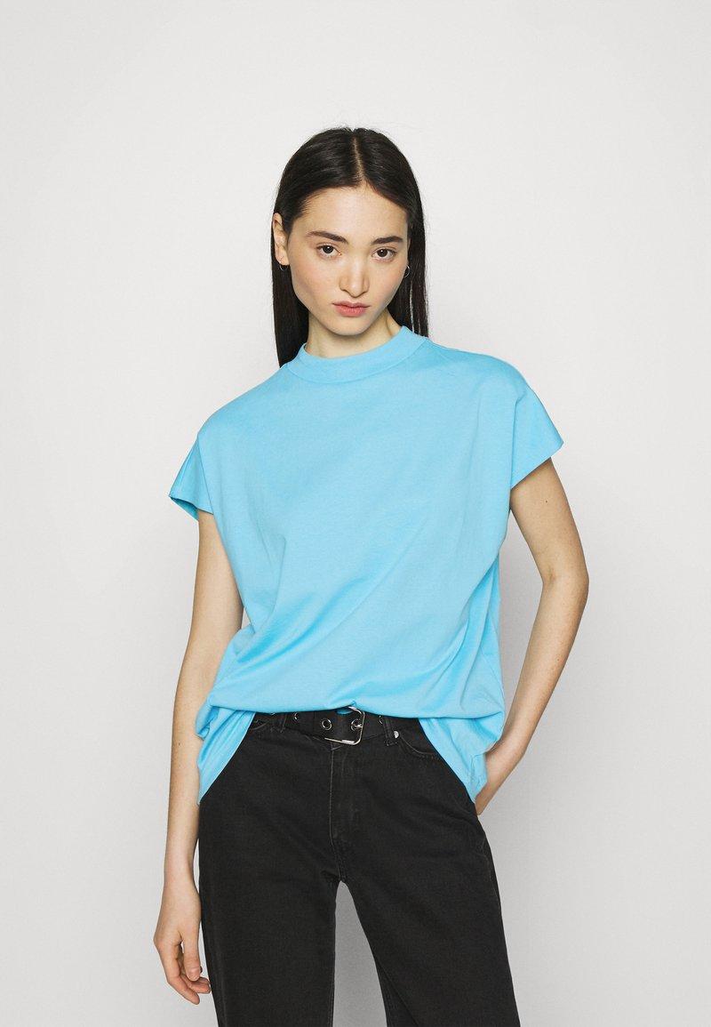 Weekday - PRIME - T-shirt basique - turquoise light