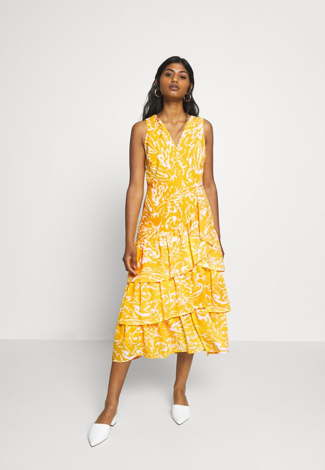 JABARI - Cocktailklänning - yellow