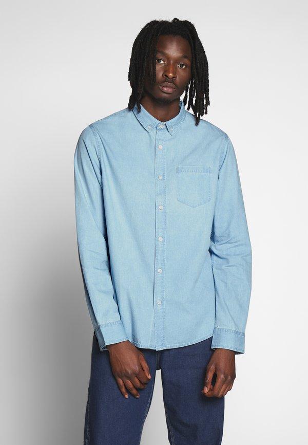 Brave Soul Koszula - blue denim/niebieski Odzież Męska RNKO