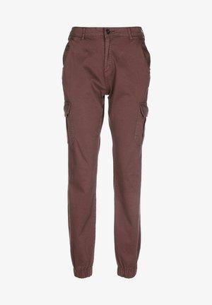 HIGH WAIST - Pantalones cargo - cherry