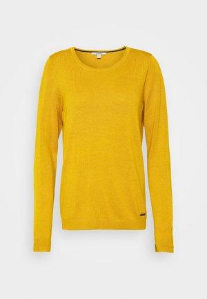 Svetr - brass yellow