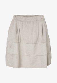 Noisy May - NMLAUREN  - A-line skirt - grey - 3