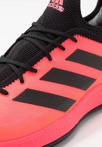adidas Performance - DEFIANT GENERATION - Tenisové boty na všechny povrchy - signal pink/core black - 5